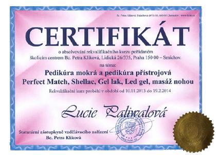 Pedikúra Praha 9,8,7